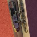 Доводчик торцевой фальцевый скрытого монтажа NHN JDC-80 (R-85)